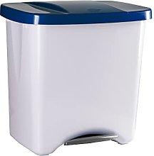 Denox DEN110 Pedalbin Ecológico 50 litros, Azul,