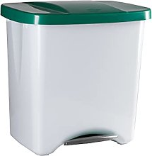 Denox DEN111 Pedalbin Ecológico 50 litros, Verde,