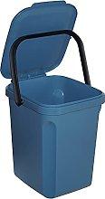 Denox DEN120 Cubo orgánico 10 litros, Azul,