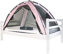 DERYAN Tienda mosquitera para cama rosa 200x90x110