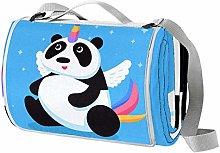 Desheze Manta de Playa Panda Unicornio Manta de