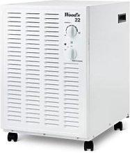 Deshumidificador eléctrico Woods SW22FW Blanco