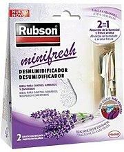 Deshumidificador rubson mini fresh lavanda accion