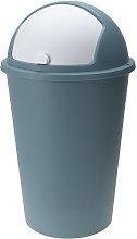 Deuba Cubo de basura cesto de desechos con tapa