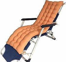 DFBGL Cojín reclinable de jardín con Lazos,
