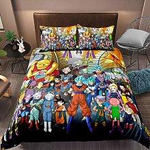 DFTY Juego de ropa de cama con diseño de Dragon