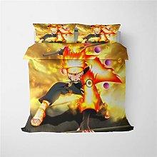 DFTY Naruto - Funda nórdica con funda de almohada