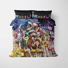 DFTY One Piece - Juego de ropa de cama de One