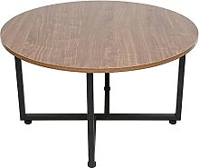 DHTOMC Mesa auxiliar para oficina, mesa de café,