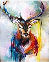 Diamond Painting Animal Alce Diamont Painting 5D
