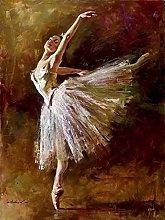 Diamond Painting Bailarina Blanca Diamont Painting