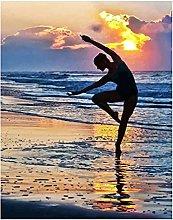 Diamond Painting Bailarina Playa Diamont Painting