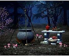 Diamond Painting Hongos Noche Diamont Painting 5D