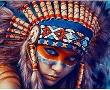 Diamond Painting Indios Diamont Painting 5D