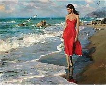 Diamond Painting Mujer De Playa Diamont Painting