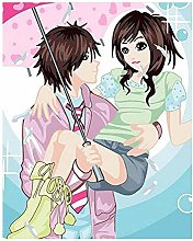 Diamond Painting Pareja Anime Diamont Painting 5D