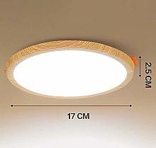 Diseño de madera del grano Focos de techo
