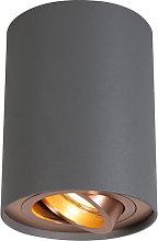 + Diseño Foco gris cobre bombilla-WiFi-GU10 -