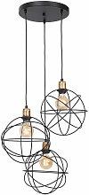 Diseño lámpara colgante bola comedor lámpara
