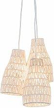 Diseño Lámpara colgante retro blanco 35cm - LINA