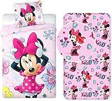 Disney Minnie 187 - Juego de cama individual de 3