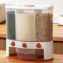 Dispensador de Cereales de 3 Rejillas,Tanque