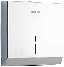 Dispensador de papel toalla acero brillo NOFER