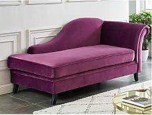 Diván derecho BOUDOIR - violeta