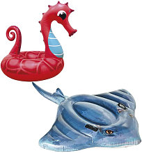 Divers - Boya hinchable Seahorse hinchable Pack 91
