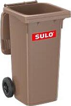 Divers Sulo - Cubo de Basura (120 L), Color marrón
