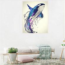 DIY 5D diamante pintura del taladro S10120 Dolphin