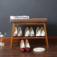 DJPP Zapatero Banco de Zapatos Simple Nan Bamboo