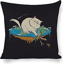 DKISEE Fundas de almohada decorativas de lino de
