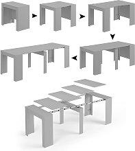 Dmora. Mesa consola extensible con soporte de