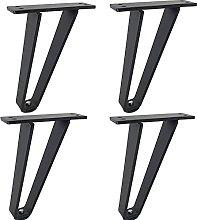 DONGYAO Piernas de muebles de metal, estilo