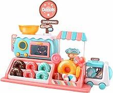 Donut Toy Set, Juego De Comida Para Microondas