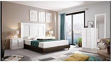 Dormitorio de matrimonio en varios colores incluye