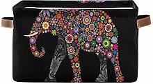 DOSHINE - Cesta de almacenamiento de elefante