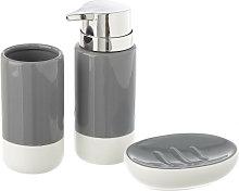 Dosificador de jabón moderno de cerámica con