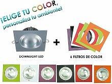 Downlight Led 10W Color: Blanco - Blanco
