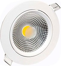 Downlight Led BASIC COB 10W, Blanco cálido