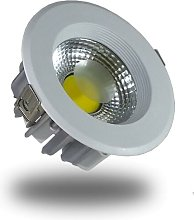 DownLight LED COB 10W 135mm 4500K Luz NATURAL