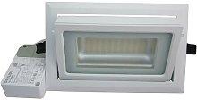 Downlight rectangular LED Foco ajustable 40W -