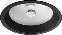 Downlight Wan de FLOS, negro