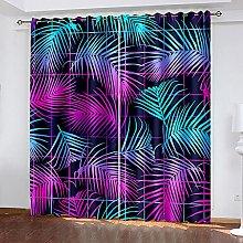 DRFQSK 3D Foto De Arte Abstracto Patrón Cortinas