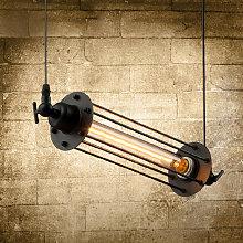 Drillpro - Lámpara colgante industrial retro