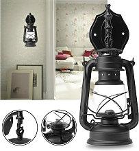 Drillpro - Lámpara de linterna rústica vintage