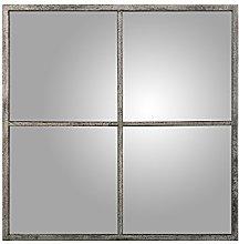 DRW - Espejo de Pared Cuadrado con Forma de