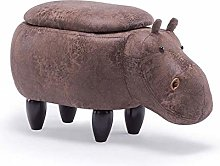 DSDD Reposapiés Otomanos Sofá Banco Hipopótamo