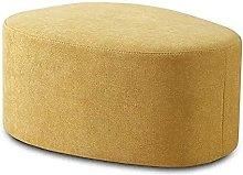 DSDD Taburete Cuadrado de Tela, sofá Minimalista